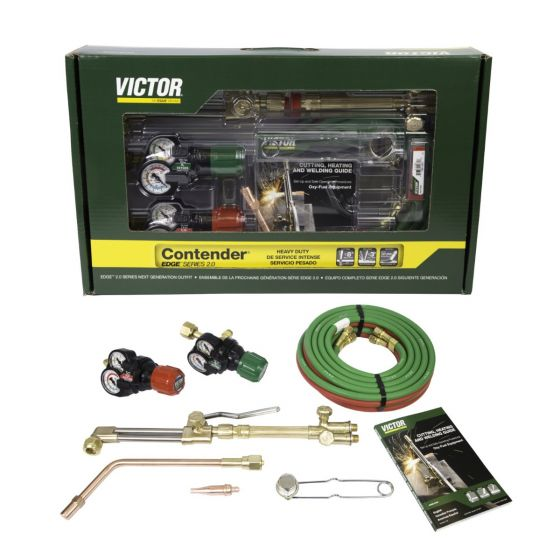 Victor Contender 2.0 Heavy Duty Welding and Cutting Outfit (0384-2131)