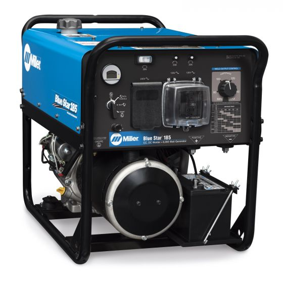 Miller Blue Star 185 Welder/Generator with GFCI Receptacles (907664)