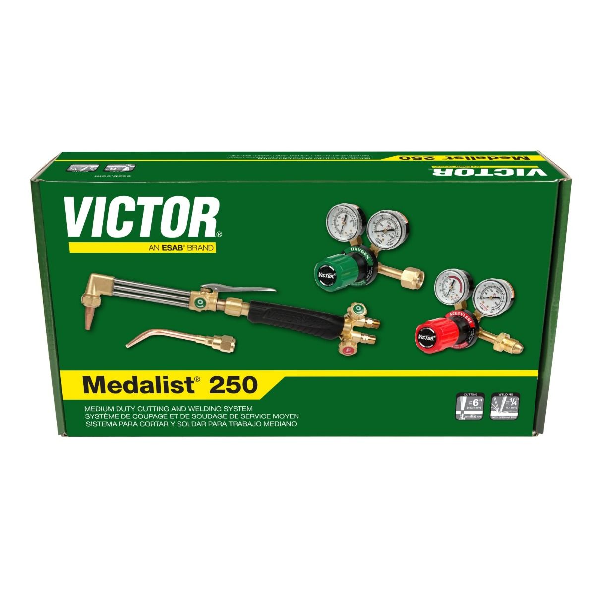 Victor Medalist 250 Welding and Cutting Outfit (0384-2541)