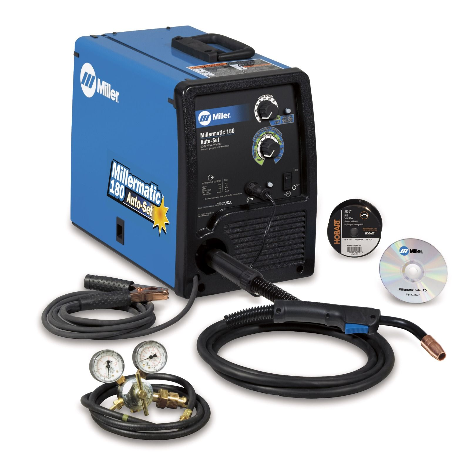 Miller Millermatic 180 MIG Welder with Auto-Set and Cart (951374)