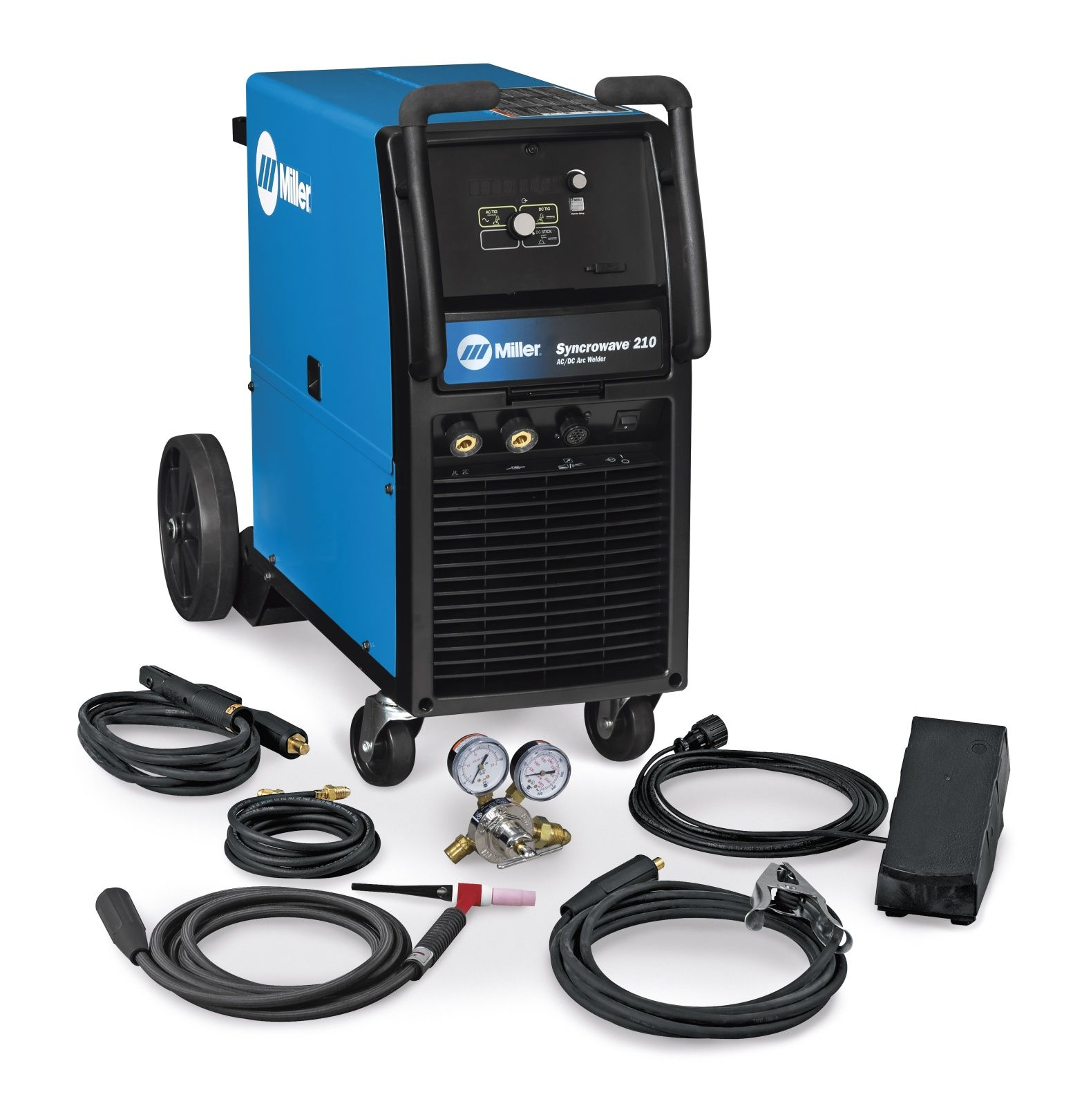 Miller Arc Welder >> Miller Syncrowave 210 Tig Welder For Sale 907596 Welding
