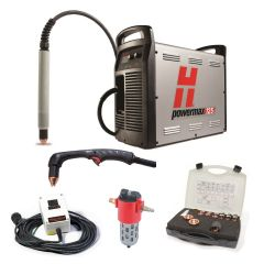 Hypertherm Powermax 125 w/CPC 50ft Mech and 25ft 85° Hand Torch Pkg (059541)