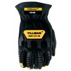 Tillman 1446 Oil X Drivers Glove with ANSI A6 Cut Resistance