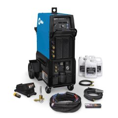 Miller Syncrowave 400 AC/DC TIG and Stick Welder Complete w/Wireless Foot Control (951832)