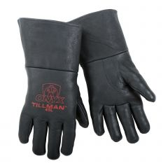 Tillman 45 Black Onyx Top Grain Pigskin MIG Welding Gloves