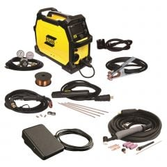 ESAB Rebel EMP 215ic MIG/Stick/TIG Welder with Foot Control (0558102240)