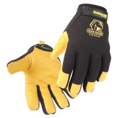 Black Stallion ToolHandz Core Grain Pigskin Palm Winter Mechanics Glove (GW4040-BY)