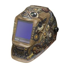 Lincoln Viking 3350 Series Steampunk Auto Darkening Welding Helmet (K3428-4)
