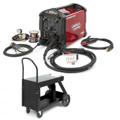 Lincoln Power MIG 210 MP Multi Process Welder & Deluxe Cart (K3963-1, K520)