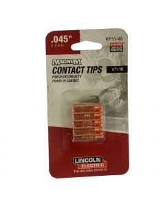 Lincoln .045 Contact Tips Pkg/10 (KP11-45)