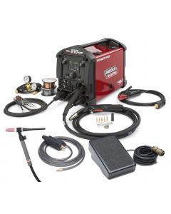 Lincoln Power MIG 210 MP Multi Process Welder (K4195-2)