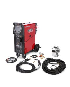 Lincoln Power Mig 360 Multiprocess Welder (Aluminum Trailer Mfg One-Pak) (K4662-1)