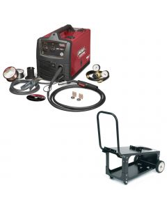 Lincoln SP 140T MIG Welder Package with Cart (K2688-2 & K2275-1)