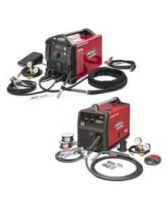 Lincoln Square Wave TIG 200 and Power Mig 140C Garage Pak (K5126-1, K2471-2)