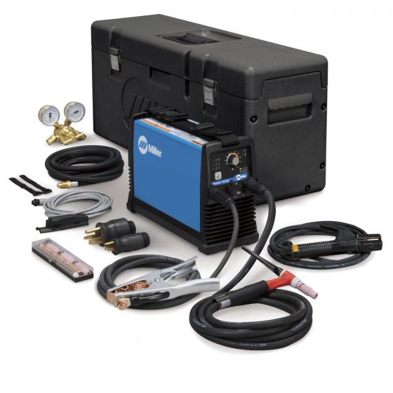 Miller Maxstar 150 STL TIG/Stick Welder Package with Remote Fingertip Control (907135-01-7)