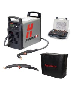 Hypertherm Powermax 65 w/CPC 25ft 75° and 15° Hand Torch Pkg (083307)