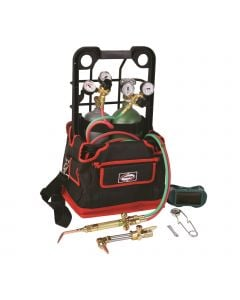 Harris Classic Port-A-Torch Oxygen/Acetylene Welding & Cutting Outfit with Cylinders (4403211)