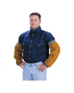 Tillman 18 inch Leather Elastic Welding Sleeves (5218E)