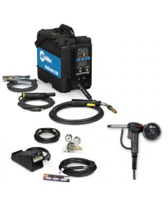 Miller Multimatic 200 Multiprocess Welder, TIG Kit, and Spoolgun (907518)
