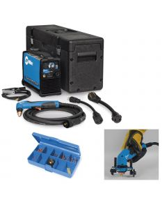 Miller Spectrum 625 X-Treme Plasma Cutter with 12 ft. Torch (907579), Consumables and Roller Guide