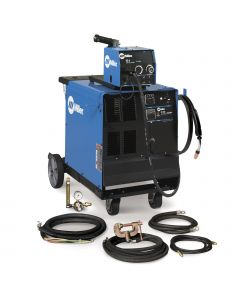 Miller CP-302 MIG Welder with Wire Feeder, Accessory Package, and Cart (951230)