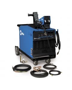 Miller Deltaweld 452 MIG Welder with Feeder, Accessory Package and Cart (951236)