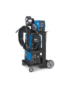 Miller Invision 352 MPa MIG Welder with Aux Power, Feeder, Accessory Package, and Cart (951379)