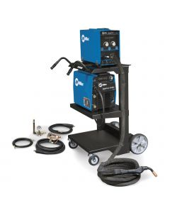 Miller AlumaPower 450 MPa MIG Welder with Feeder, 25-ft XR Gun, MIG Kit, and Cart (951459)