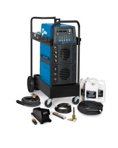 Miller Maxstar 350 TIG Welder and Water-Cooled Package with Wireless Foot Control (951625)