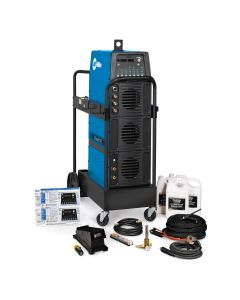 Miller Dynasty 700 TIG Welder and Water-Cooled Package with Wireless Foot Control (951404)