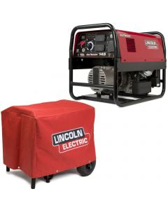 Lincoln Outback 145 Engine Welder Generator w/ Cover (K2707-2 & K2804-1)