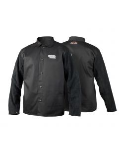 Lincoln Shadow Split Leather Sleeved Welding Jacket