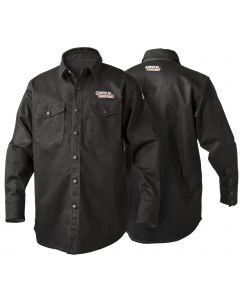 Lincoln Black Flame Retardant Welding Shirt
