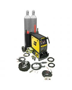 ESAB Fabricator 252I MIG, TIG & Stick Welder with Dual Cart & Spool Gun (W1004403)