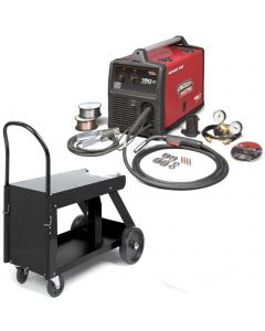 Lincoln Power MIG 180C MIG Welder Pkg. With Deluxe Cart K520 (K2473-2)