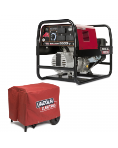 Lincoln Bulldog 5500 Welder Generator w/ Cover (K2708-2 & K2804-1)