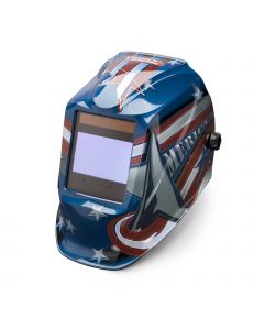 Lincoln Viking 2450 Series All American Auto Darkening Welding Helmet (K3174-3)