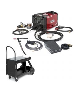 Lincoln Power MIG 210 MP Welder w/ TIG Kit and HD Cart (K4195-2)