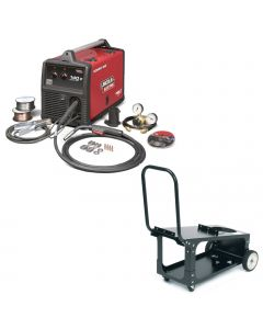 Lincoln Power MIG 140C MIG Welder with Cart (K2471-1)