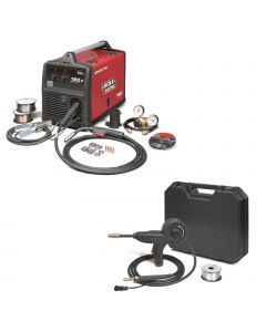 Lincoln Power MIG 180C MIG Welder Pkg. with Spool Gun (K2473-2, K3269-1)