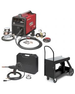 Lincoln Power MIG 180C MIG Welder Pkg. with Deluxe Cart K520 And Spool Gun (K2473-2)