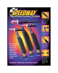Weldtec 25ft Speedway Deluxe TIG Torch Package (SW-320-25DX)