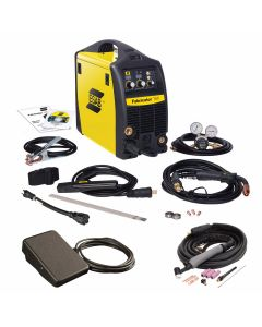 ESAB Fabricator 141i Multi Process Welding System, TIG Torch, and Foot Control (W1003141)