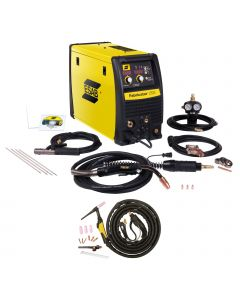 ESAB Fabricator 252I MIG, TIG & Stick Welder Pkg. With TIG Torch (W1004401 & W4013600)